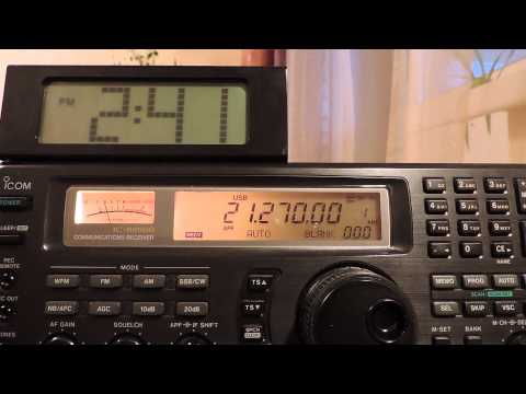 21270kHz,Ham Radio,4Z5LA(Israel)