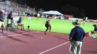 2015 NCAA West Javelin Nicolle Murphy 51.84m