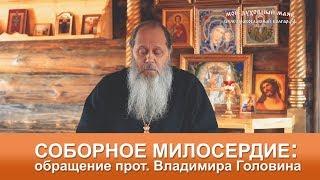 СОБОРНОЕ МИЛОСЕРДИЕ: обращение прот. Владимира Головина