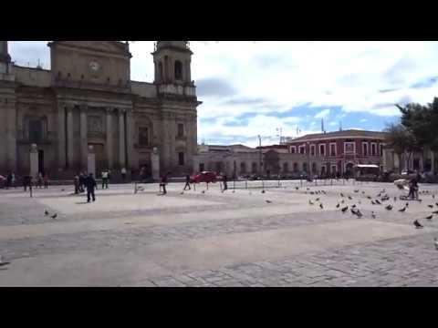 Walking in Guatemala City