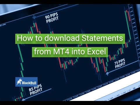 How To Download Trade Statements From Mt4 Into Excel Blackbull