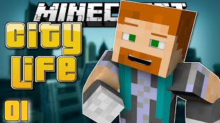 Minecraft: MOVING DAY! - City Life #1 (Minecraft Roleplay)