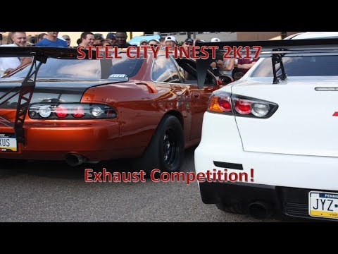 Steel City Finest 2K17 Exhaust Competition