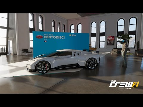 "The Crew 2 ""Motorflix"" | Bugatti Centodieci | Tuning, Soundcheck & Racetest |"
