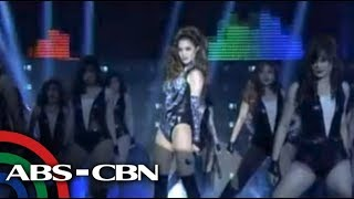 Anne Curtis performs Beyonce halftime show