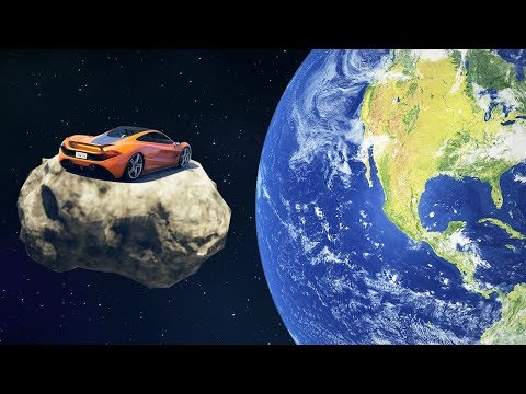 EXTREME CAR SPACE RACE! (GTA 5 Races)