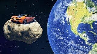 EXTREME CAR SPACE RACE! (GTA 5 Races)