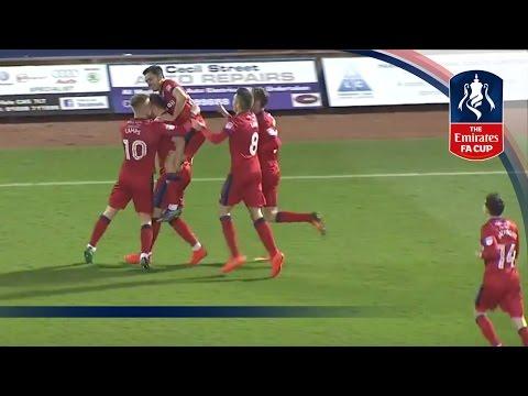 Carlisle United 0-2 Rochdale - Emirates FA Cup 2016/17 (R2) | Goals & Highlights