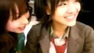 AKB48の宮澤佐江を大堀恵が襲う映像です! 旧チームKは本当に仲がいいで...