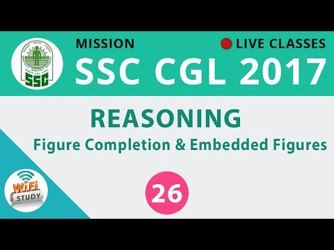 Mission SSC CGL 2017 | Reasoning #Figure Completion & Embedded Figures| Day-26