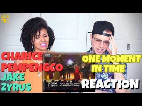 Charice Pempengco/Jake Zyrus - One Moment In Time | REACTION