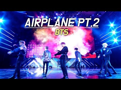 BTS : AIRPLANE PT.2 : LED FANCAM : LOTTE FAMILY CONCERT 2018 : 방탄소년단 180622