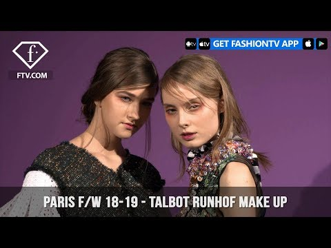 Talbot Runhof Playful Make Up Paris Fashion Week Fall/Winter 2018-19 | FashionTV | FTV