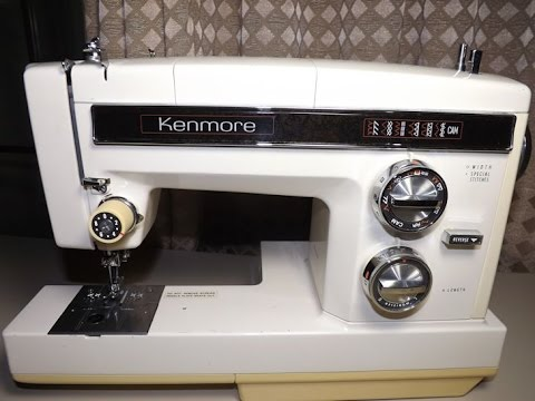 KENMORE MODEL 40 VINTAGE SEWING MACHINE TOUR YouTube Best Kenmore Sewing Machine Accessories