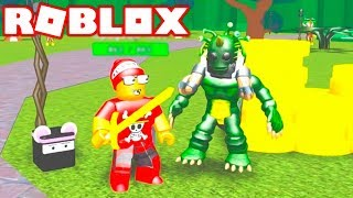 Roblox → DEFEATING ORCS and NINJAS FOR MONEY ► Roblox Legend Hunt 🎮