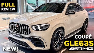 2020 MERCEDES GLE Coupe AMG NEW GLE 63 S Full In-Depth Review BRUTAL Sound Exterior Interior