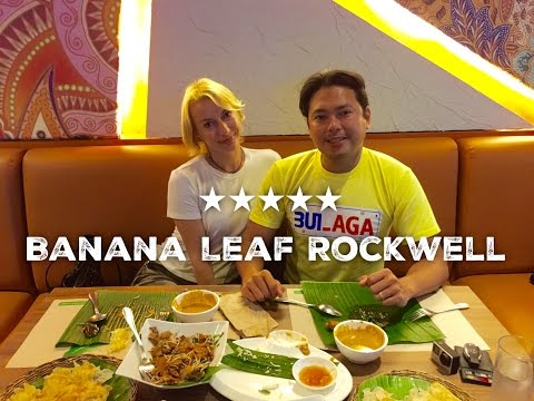 Banana Leaf Southeast Asian Cuisine Power Plant Mall Rockwell by HourPhilippines.com