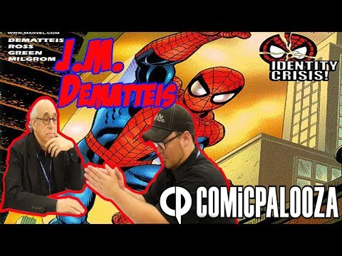 "J.M. Dematteis Interview ""Comicpalooza 2017"""