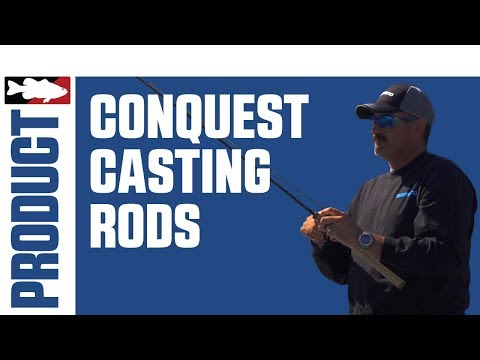 Jared Lintner Discussing The Shimano G. Loomis Conquest MBR Casting Rods