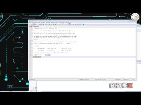 Use & Edit The Windows Host File