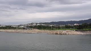 思い出鉄道光景、せんなん里海公園をゆく泉北高速鉄道12000系南海線特急 「サザン」