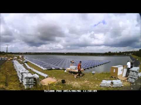 Hydrelio Solar PV Sheeplands Farm Installation