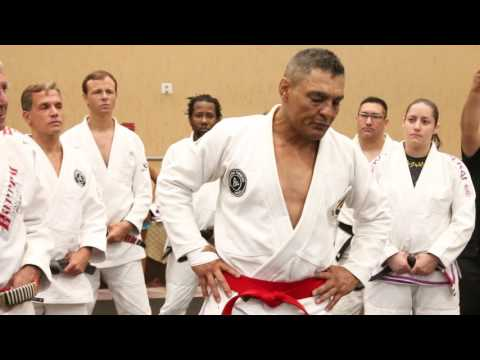 Rickson Gracie Red Belt Ceremony With s