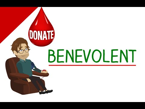 Learn English Words - Benevolent (Vocabulary Video) - 동영상