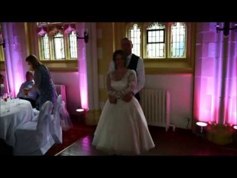 College of St Hild & St Bede of Durham University Wedding Reception Disco (County Durham Wedding DJ)