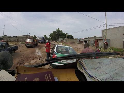crazy road Brazzaville (Congo Republic)