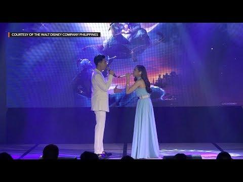 Morissette Amon and Darren Espanto perform  'A Whole New World'