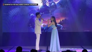 Morissette Amon And Darren Espanto Perform  'A Whole New World'