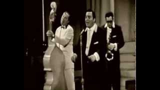 Bill Haley and the Comets - Al Pompilli vocal - Giddy Up A Ding Dong (live in Belgium 1958)