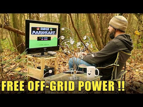 FREE OFF-GRID POWER ! - AllPowers Solar Generator