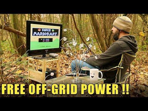 FREE OFF-GRID POWER ! - AllPowers Solar Generator