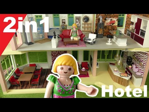 Playmobil deutsch - Pimp my PLAYMOBIL Hotel - 2in1 von Familie Hauser