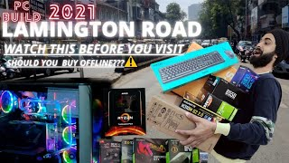 LAMINGTON ROAD    PC BUILD 2021    WATCH THIS BEFORE YOU VISIT    FIRST VLOG  