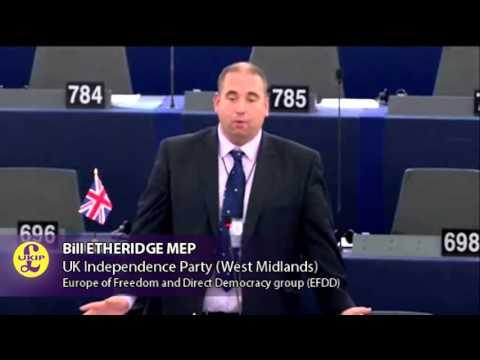 The EU is Not a Nation - UKIP MEP Bill Etheridge