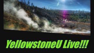 Volcano Live Earthquake Live Stream!! YellowstoneU Mt. Kilauea  / Yellowstone national park