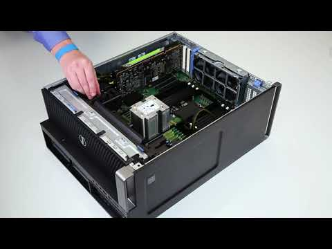Dell Precision Workstation: Install Graphics Card - YouTube