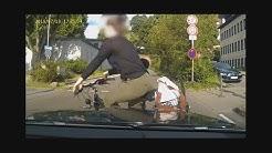Dashcam-Video Unfall Gaisbergstraße