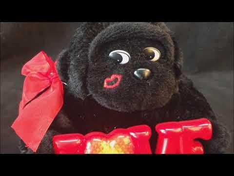 DanDee LOVE Singing Ape Light Up Plush Stuffed Animal