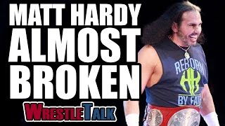 where is brock lesnar matt hardy near breaking point   wwe raw may 1 2017 review