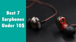 Video Best 7 earphones under 10$ from Aliexpress (Good quality earbuds from China) download MP3, 3GP, MP4, WEBM, AVI, FLV Agustus 2018
