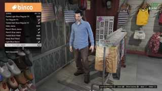 Grand Theft Auto 5 The Evil Dead Ash J. Williams Outfit tutorial