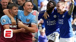 Are Leicester or West Ham more likely to make Champions League? | Premier League
