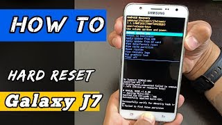 Samsung Galaxy J7 /FACTORY RESET/ [2019]