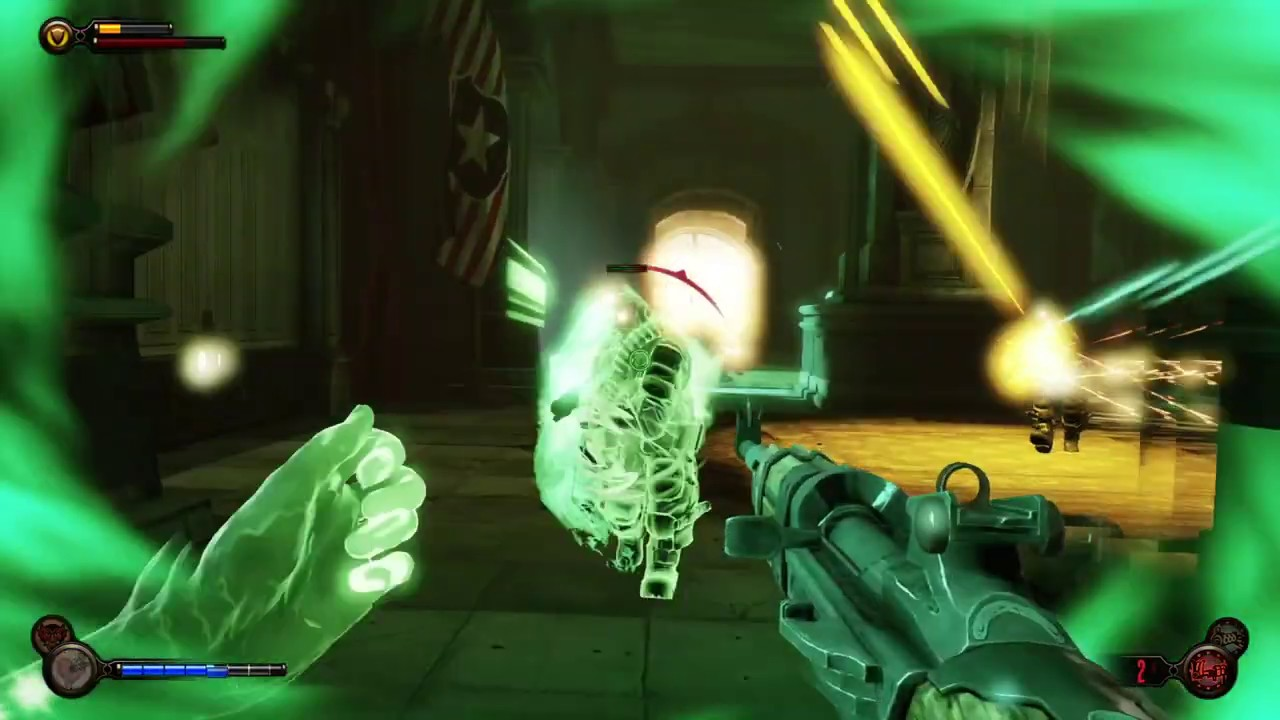 what happens at the end of bioshock infinite