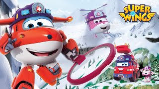 [Superwings s3 team episodes] Rescue Team | helicopter | Ambulance | Fire truck
