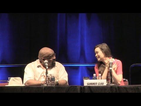 Summer Glau Panel at Comic Con Honolulu